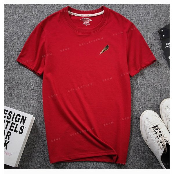 Tシャツ メンズ 半袖  細身 キレイめ トップス 透けない tシャツ 吸汗 送料無料|gsgs-shopping|13