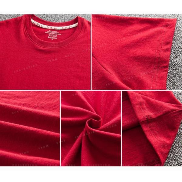 Tシャツ メンズ 半袖  細身 キレイめ トップス 透けない tシャツ 吸汗 送料無料|gsgs-shopping|20