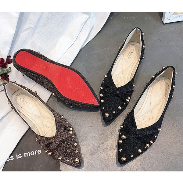 パンプス ローヒール ぺたんこ 靴 美脚 痛くない 通勤 レディースシューズ 婦人靴