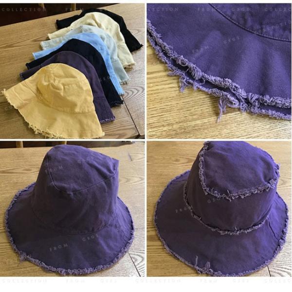 帽子 レディース オシャレなUVハット つば広 紫外線100%カット 折りたたみ帽子|gsgs-shopping|15