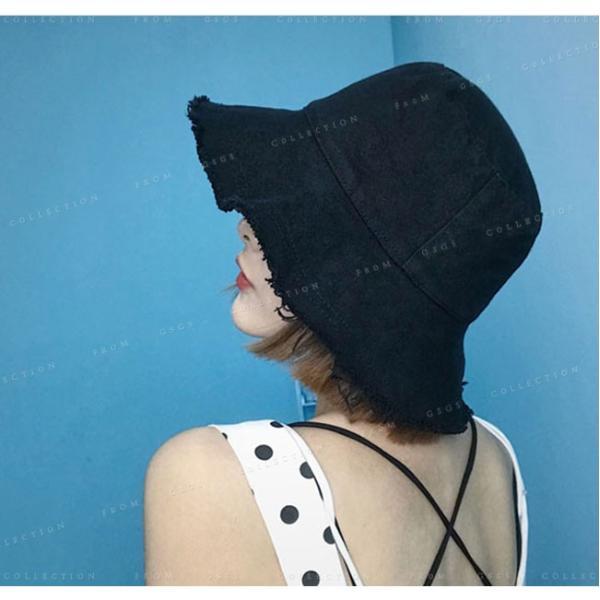 帽子 レディース オシャレなUVハット つば広 紫外線100%カット 折りたたみ帽子|gsgs-shopping|03