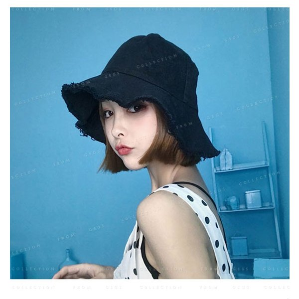 帽子 レディース オシャレなUVハット つば広 紫外線100%カット 折りたたみ帽子|gsgs-shopping|04