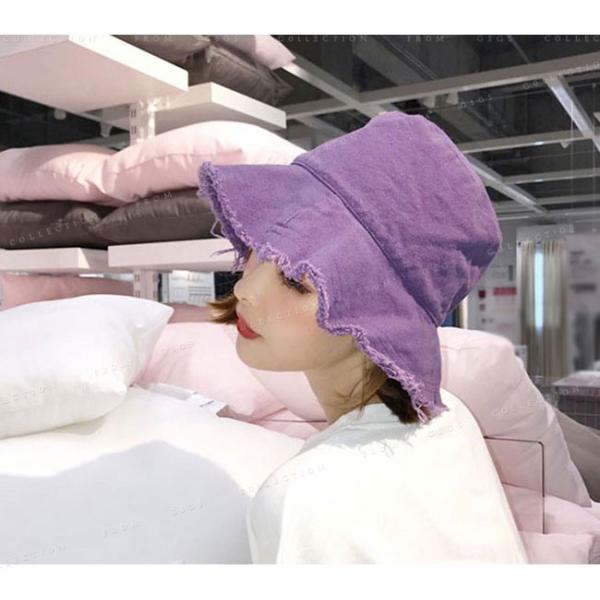 帽子 レディース オシャレなUVハット つば広 紫外線100%カット 折りたたみ帽子|gsgs-shopping|07