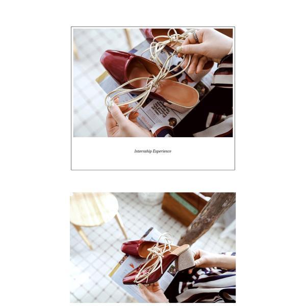パンプス ハイヒール 太ヒール レディース オフィス 通勤 春 夏 ストラップ ポインテッドトゥ OL靴 美脚 PU 履きやすい おしゃれ