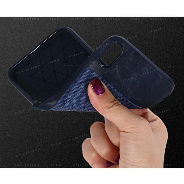 スマホケース カード収納 iPhoneX/XS XR XsMAX アイフォン 携帯ケース スマホカバー ハードケース 耐衝撃 無地 シンプル|gsgs-shopping|05