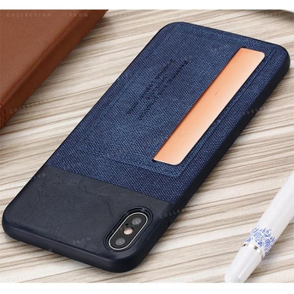 スマホケース カード収納 iPhoneX/XS XR XsMAX アイフォン 携帯ケース スマホカバー ハードケース 耐衝撃 無地 シンプル|gsgs-shopping|09