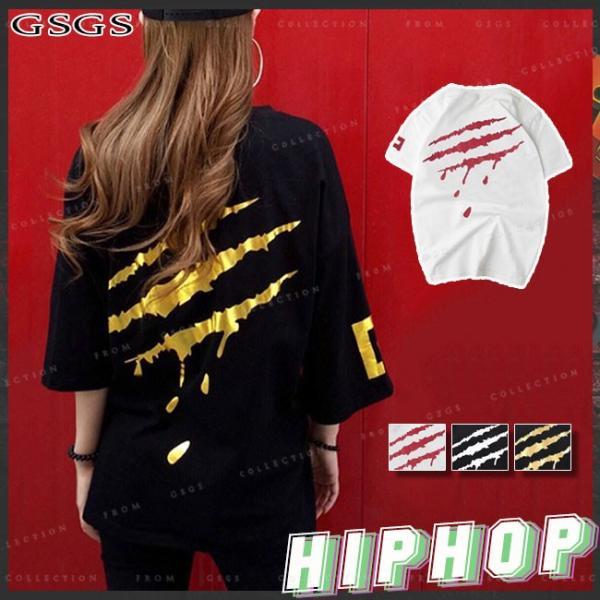ダンス衣装 レディース ヒップホップ トップス 演出服 大きいサイズ Tシャツ ステージ衣装 HIPHOP ステージ 公演服|gsgs-shopping