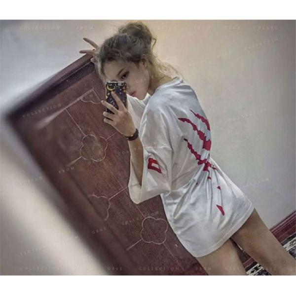 ダンス衣装 レディース ヒップホップ トップス 演出服 大きいサイズ Tシャツ ステージ衣装 HIPHOP ステージ 公演服|gsgs-shopping|04