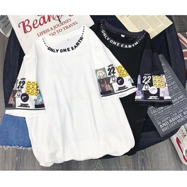 レディース  Tシャツ 半袖 ダンス衣装 HIPHOP ダンス 衣装 レディース トップス 半袖 ヒップホップ|gsgs-shopping|04