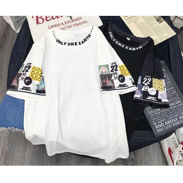 レディース  Tシャツ 半袖 ダンス衣装 HIPHOP ダンス 衣装 レディース トップス 半袖 ヒップホップ|gsgs-shopping|05