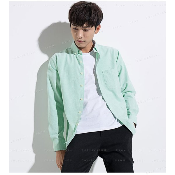 メンズ 長袖 カジュアルシャツ 春新作 長袖シャツ メンズ トップス 夏 春物 春服 大きいサイズ メンズシャツ|gsgs-shopping|13
