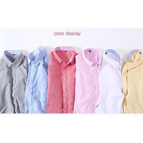 メンズ 長袖 カジュアルシャツ 春新作 長袖シャツ メンズ トップス 夏 春物 春服 大きいサイズ メンズシャツ|gsgs-shopping|04