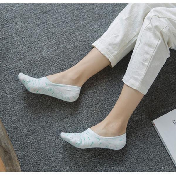 カバーソックス 靴下 レディース 見えない かわいい 滑り止め 5足セット|gsgs-shopping|03