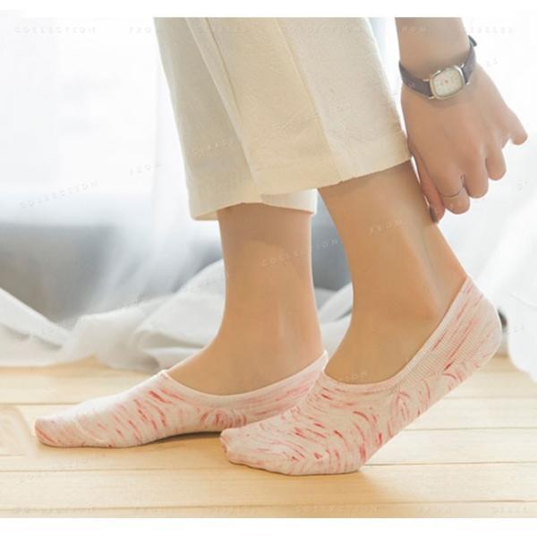 カバーソックス 靴下 レディース 見えない かわいい 滑り止め 5足セット|gsgs-shopping|04