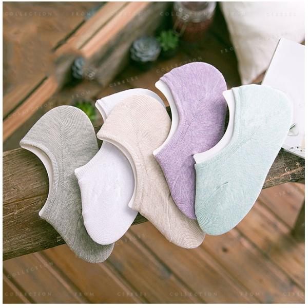 カバーソックス 靴下 レディース 見えない かわいい 滑り止め 5足セット|gsgs-shopping|07