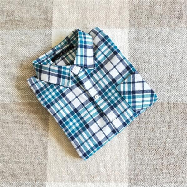 シャツ 長袖 レディース フォーマル 秋の新作 チェック柄 誰でも着やすいベーシックなナチュラルコート ゆったり 着痩せ|gsgs-shopping|11