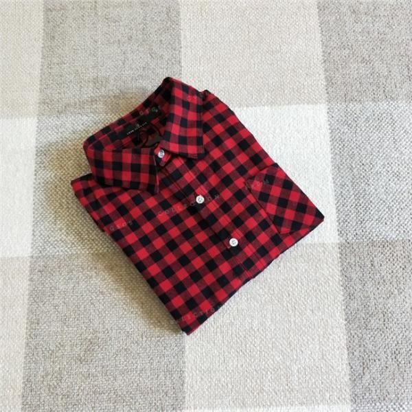 シャツ 長袖 レディース フォーマル 秋の新作 チェック柄 誰でも着やすいベーシックなナチュラルコート ゆったり 着痩せ|gsgs-shopping|13