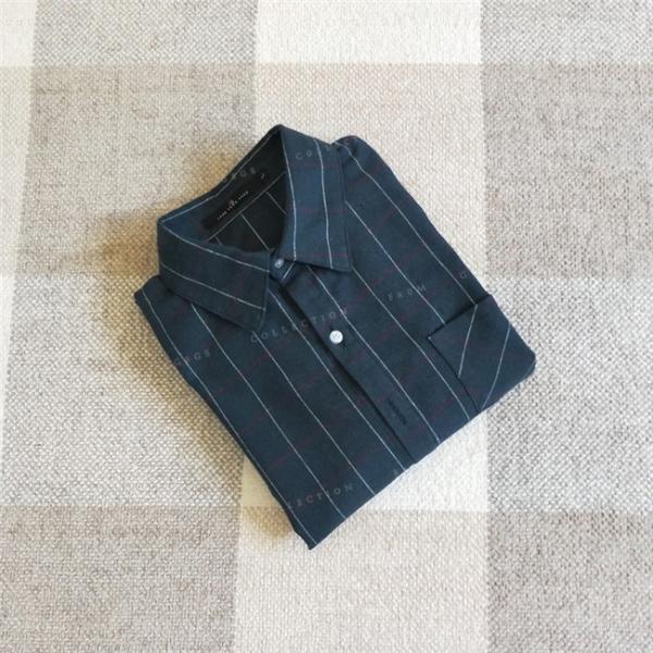 シャツ 長袖 レディース フォーマル 秋の新作 チェック柄 誰でも着やすいベーシックなナチュラルコート ゆったり 着痩せ|gsgs-shopping|14