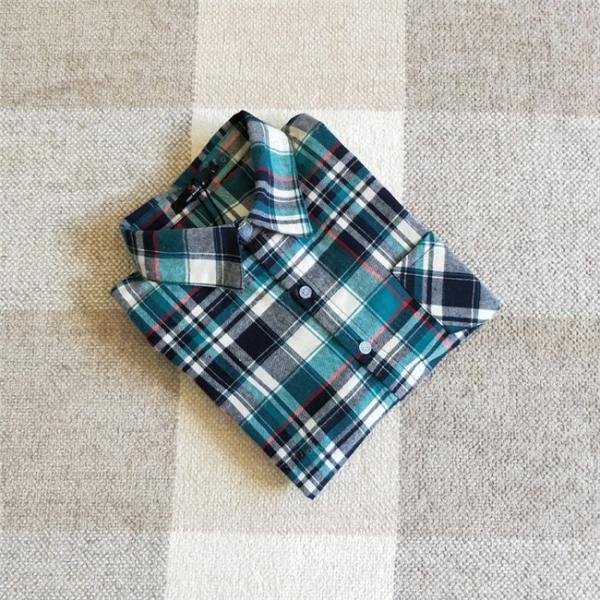 シャツ 長袖 レディース フォーマル 秋の新作 チェック柄 誰でも着やすいベーシックなナチュラルコート ゆったり 着痩せ|gsgs-shopping|18