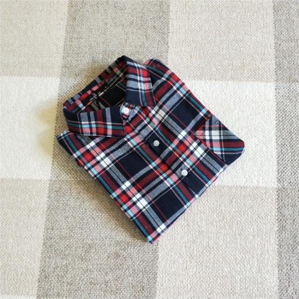シャツ 長袖 レディース フォーマル 秋の新作 チェック柄 誰でも着やすいベーシックなナチュラルコート ゆったり 着痩せ|gsgs-shopping|19