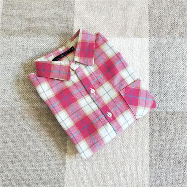 シャツ 長袖 レディース フォーマル 秋の新作 チェック柄 誰でも着やすいベーシックなナチュラルコート ゆったり 着痩せ|gsgs-shopping|10