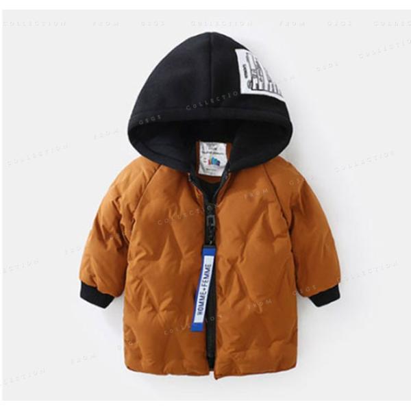 中綿コート 男の子 ジャケット フード付き 冬着 ロング丈 防寒 保温 キッズコート キッズ服 アウター 可愛い コート|gsgs-shopping|05