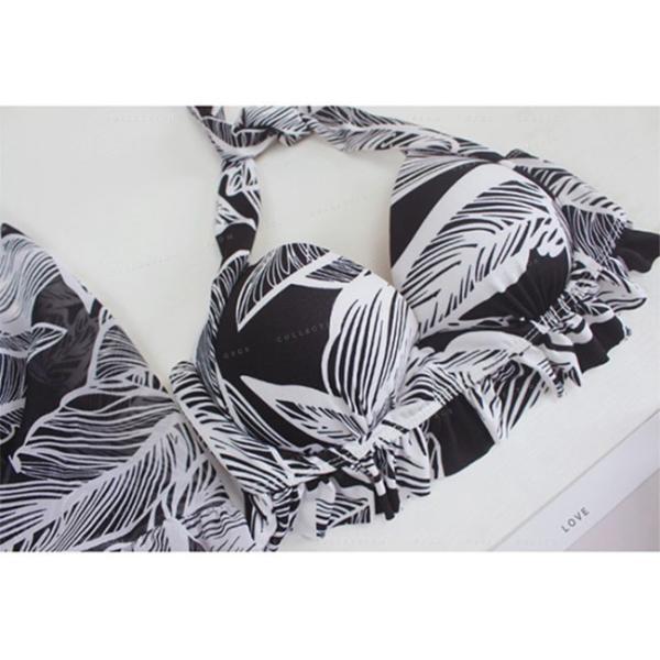 水着 レディース ビキニ タンキニ 3点セット 体型カバー ラッシュガード ショートパンツ  セパレート 無地 女性用 可愛い ビーチ|gsgs-shopping|13