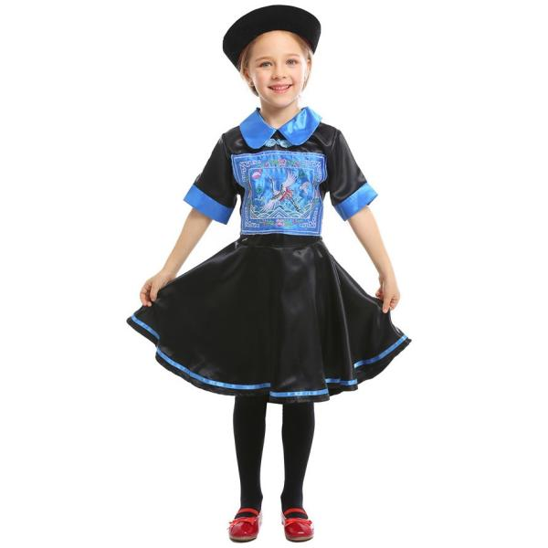 ハロウィン キョンシー コスプレ コスチューム 仮装 子供服 女の子 パーティー キャラクター 鬼 衣装 ハロウイン変装|gsgs-shopping|05