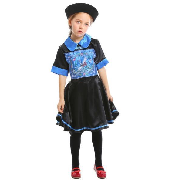 ハロウィン キョンシー コスプレ コスチューム 仮装 子供服 女の子 パーティー キャラクター 鬼 衣装 ハロウイン変装|gsgs-shopping|07