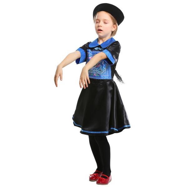 ハロウィン キョンシー コスプレ コスチューム 仮装 子供服 女の子 パーティー キャラクター 鬼 衣装 ハロウイン変装|gsgs-shopping|08