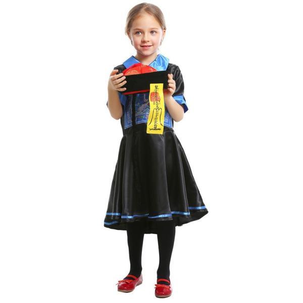 ハロウィン キョンシー コスプレ コスチューム 仮装 子供服 女の子 パーティー キャラクター 鬼 衣装 ハロウイン変装|gsgs-shopping|10
