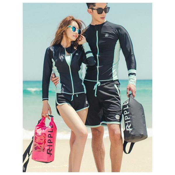 長袖水着 レディース 3点セット スポーツ水着 ファッション水着 体型カバー スイムウエア|gsgs-shopping|02