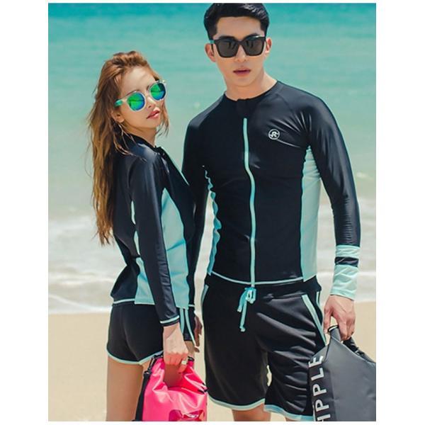 長袖水着 レディース 3点セット スポーツ水着 ファッション水着 体型カバー スイムウエア|gsgs-shopping|09