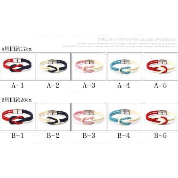 ブレスレット アクセサリー 腕輪 ミサンガ 編み込み シンプル カップル 贈り物 ギフト 夏|gsgs-shopping|02