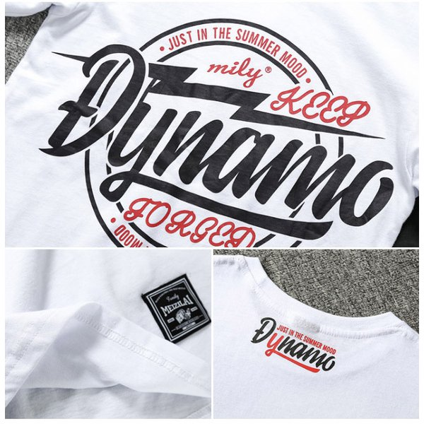 Tシャツ メンズ 半袖 速乾 スポーツ 白 黒 トップス ロゴTシャツ 人気 ファッション プレゼント|gsgs-shopping|11