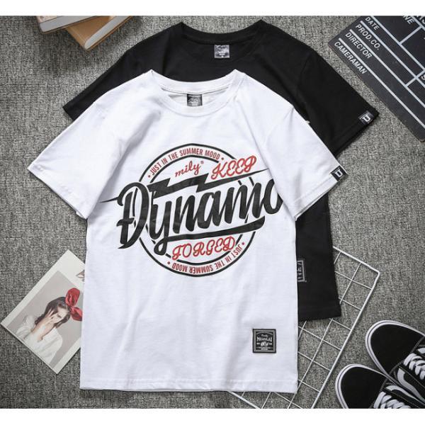 Tシャツ メンズ 半袖 速乾 スポーツ 白 黒 トップス ロゴTシャツ 人気 ファッション プレゼント|gsgs-shopping|03