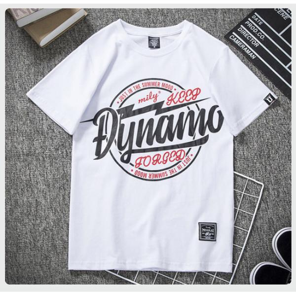 Tシャツ メンズ 半袖 速乾 スポーツ 白 黒 トップス ロゴTシャツ 人気 ファッション プレゼント|gsgs-shopping|07