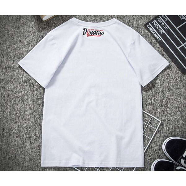 Tシャツ メンズ 半袖 速乾 スポーツ 白 黒 トップス ロゴTシャツ 人気 ファッション プレゼント|gsgs-shopping|08