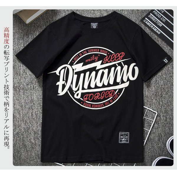 Tシャツ メンズ 半袖 速乾 スポーツ 白 黒 トップス ロゴTシャツ 人気 ファッション プレゼント|gsgs-shopping|09