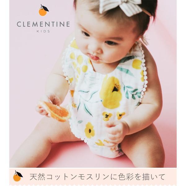 CLEMENTINE KIDS クレメンタインキッズ モスリン ビブ 2枚セット ( よだれかけ ビブセット スタイセット おしゃれ かわいい 出産祝)|gudezacom|11