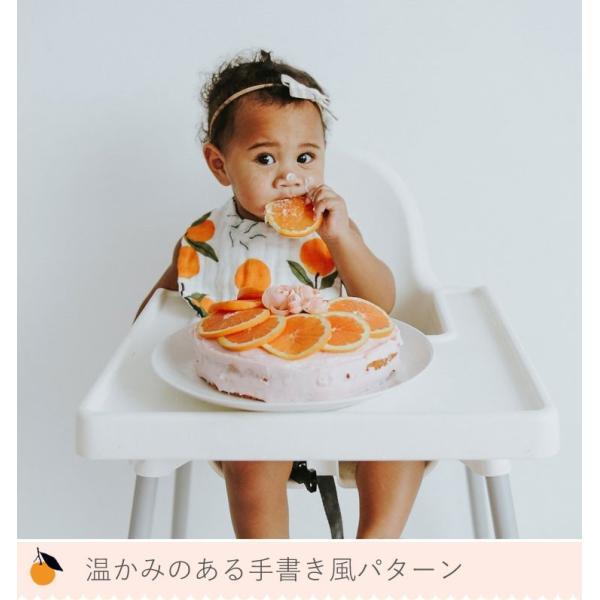 CLEMENTINE KIDS クレメンタインキッズ モスリン ビブ 2枚セット ( よだれかけ ビブセット スタイセット おしゃれ かわいい 出産祝)|gudezacom|12