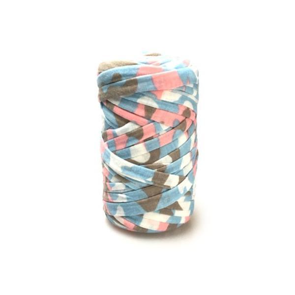 Tシャツヤーン カモフラージュ柄 パステル系 200g|guild-yarn