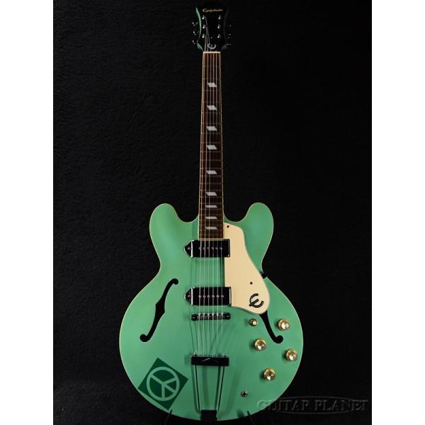 【中古】Epiphone Casino -Turquoise- 2000年製《エレキギター》