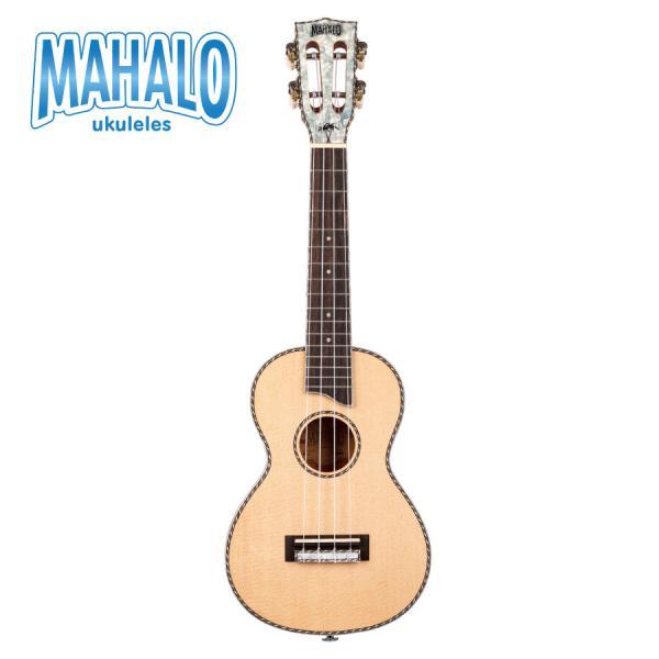【ピックアップ搭載モデル】MAHALO ~Pearl Series~ MP2E │ コンサートウクレレ《ウクレレ》