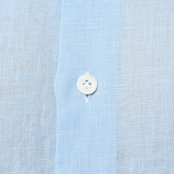 【SALE30】Giannetto(ジャンネット)リネンソリッドフラワーコンビセミワイドカラーシャツ VINCI FIT/AG8333PV81 11091011109◇◇|guji|17