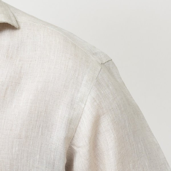 【SALE30】Giannetto(ジャンネット)リネンソリッドカプリシャツ AG833SUM84 11091012109 guji 11