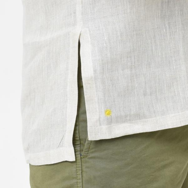 【SALE30】Giannetto(ジャンネット)リネンソリッドカプリシャツ AG833SUM84 11091012109 guji 13
