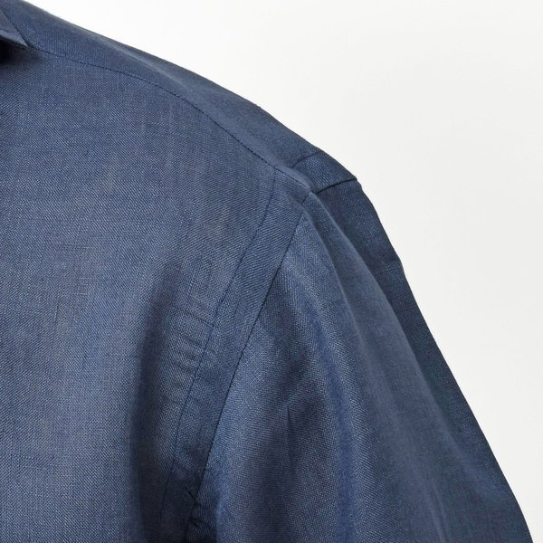 【SALE30】Giannetto(ジャンネット)リネンソリッドカプリシャツ AG833SUM84 11091012109 guji 17