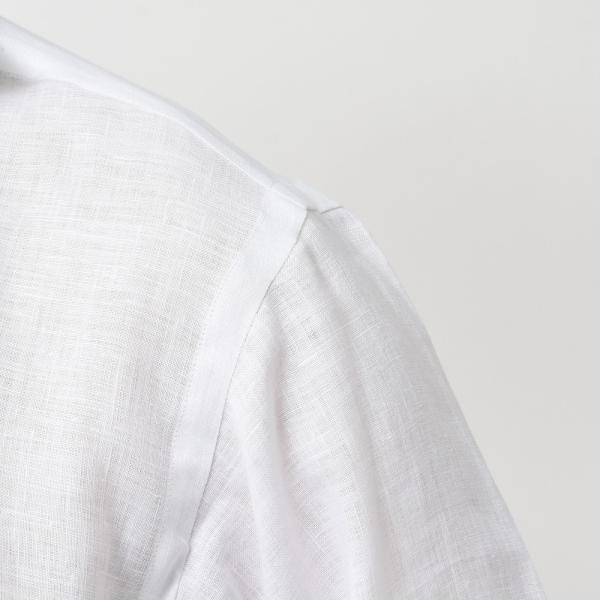 【SALE30】Giannetto(ジャンネット)リネンソリッドカプリシャツ AG833SUM84 11091012109 guji 05