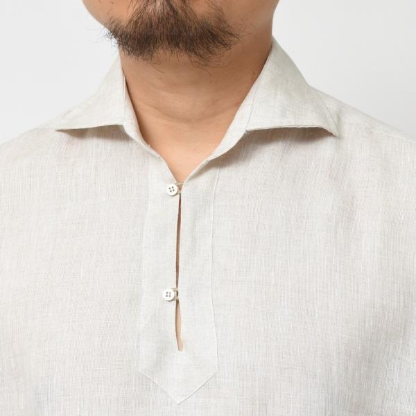 【SALE30】Giannetto(ジャンネット)リネンソリッドカプリシャツ AG833SUM84 11091012109 guji 10